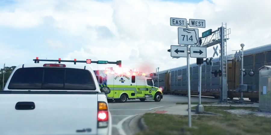Florida All Aboard High Speed Trains Cause 32 Additional Traffic Delays Daily
