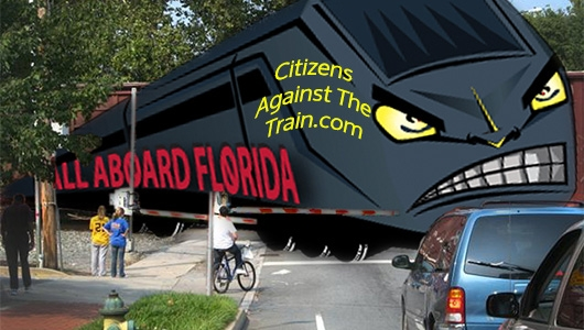 All Aboard Florida Stalling Traffic at Local Intersections